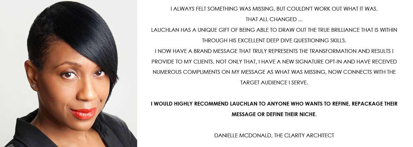 Testimonial - Danniele